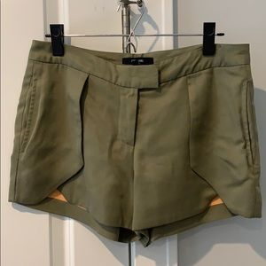 Funktional Army Green Shorts Size 4